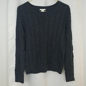 H & M Cable Knit Sweater Size Medium
